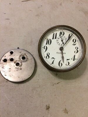 Vintage Chesterfield Alarm Clock Made In Usa