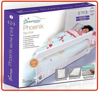 Dreambaby Child Toddler Dream Baby PHOENIX BED RAIL Fully Assemble White Safety