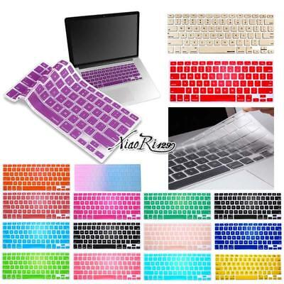 "Silicone Keyboard Protector Skin Cover For MacBook Air/Pro/retina 11"" 12 13"" 15"""
