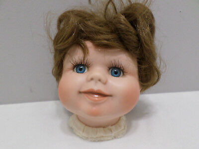 Porcelain Girl Doll head