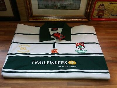 Brand New with tags Trailfinders Ealing rugby club 2XL rugby shirt