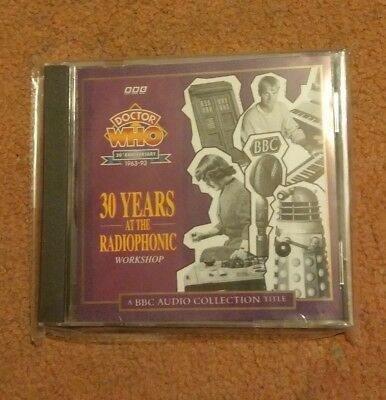 Doctor Who 30th Anniversary 30 Years At The Radiophonic Workshop Cd Rare New