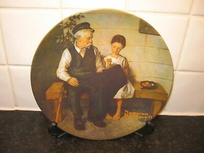 Norman Rockwell   Plate - The Lighthouse Keepers Daughter  -Bradford Exchange