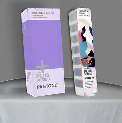 Pantone Color FORMULA Guide UNCOATED Sealed Book as pictured + box - GP1601N