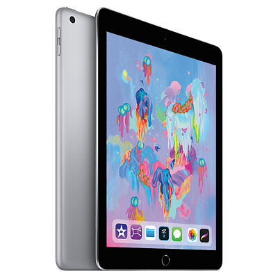 Apple iPad  9.7 Inch WiFi 32GB - Space Grey (2018) **BRAND NEW+ APPLE WARRANTY**