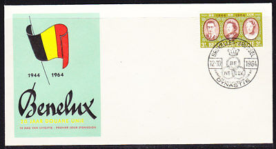 Belgium 1964 Royal Family First Day Cover
