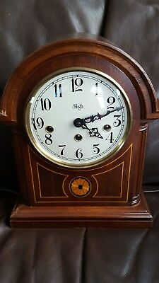 *sligh Franz Hermle 340-020 Westminster Chime Mantel Clock Model 0519-2-Cm