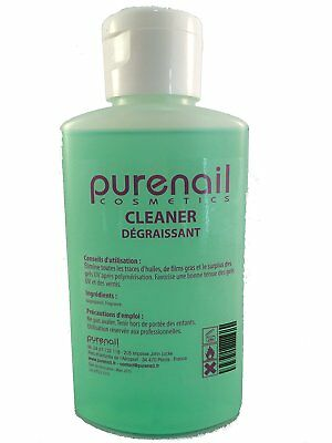 Nail Cleaner Dégraissant pour Gel UV et Faux Ongles 100 ml Degreaser cleaner
