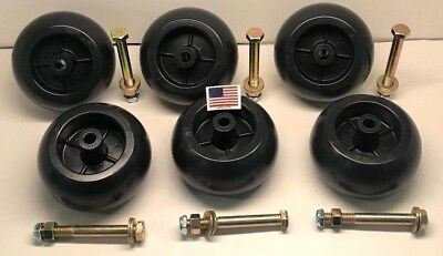 6 Deck wheel + Kit  REPLACEMENT *USA MADE*  Fits Hustler 788166 31997 781567