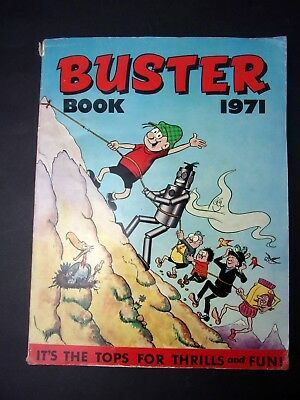 Buster Book 1971 annual