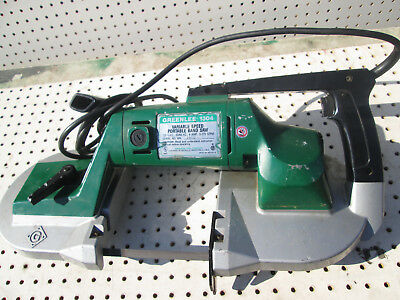 Greenlee 1304 Variable Speed 6 AMP Portable Band Saw , bandsaw