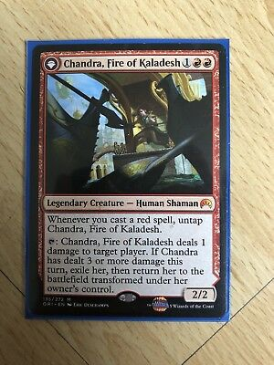 Chandra, Fire Of Kaladesh, Magic Origins Planeswalker