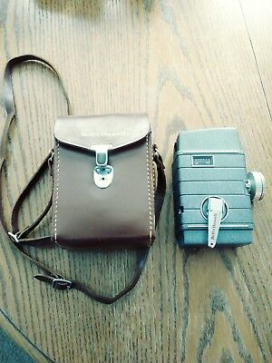Vintage Bell And Howell Two Twenty 8 MM Movie Camera W/ Original Case