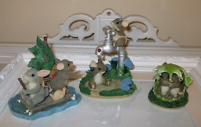 Charming Tails Lot 3 Spring Flowers Showered Friendship Weather Storm Adventure