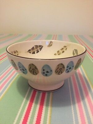 Emma Bridgewater Egg And Feather French Bowl Discontinued