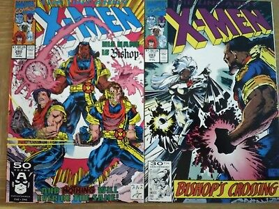 The Uncanny X-Men # 282 & # 283 (1991, Marvel) 1st Bishop!