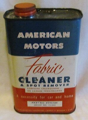 Rambler Upholstery Cleaner Car Care Chemical: Full Can From The Sixties