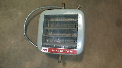 Modine Steam Hot Water Heater Unit Model HS18SO1 (Used)