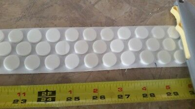 100 CD or DVD center foam hubs with adhesive back (rosettes/dots)