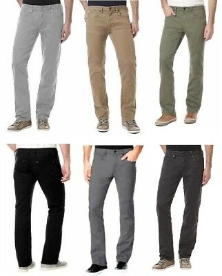 Buffalo David Bitton Men's Sam-X Slim Straight Stretch Jeans, Pick Color / Size