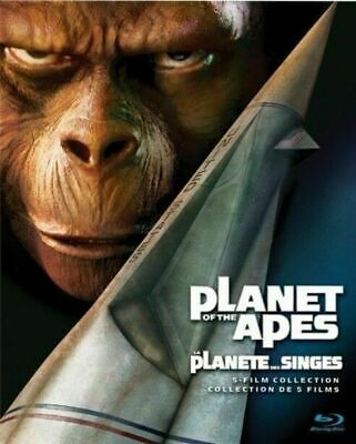 Planet of the Apes 5-Film Collection [Blu-ray] New & Factory Sealed!!