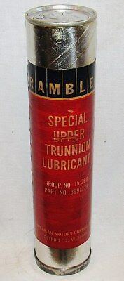 Rambler Upper Trunnion Lubricant Cartridge Car Care Chemical: From The Sixties