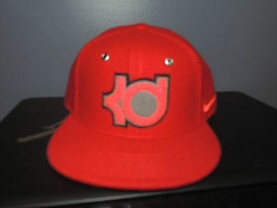 e4bb8e19292 Men s Nike KD Kevin Durant Wool Adjustable Snapback Hat NWT Red 698891