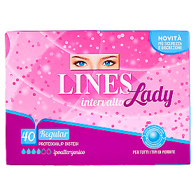 Intervallo Lady Regular Proteggislip Distesi 40 pz