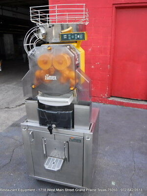 Zumex Speed Tank Version D Podium Orange Citrus Juicer