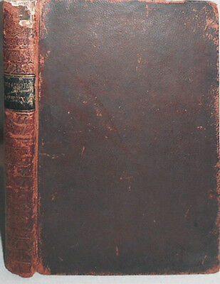 Very Rare- 1844 -History of Texas:Emigrant's Guide To New Republic- Leather Book