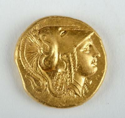 Greek AU Gold Stater of Alexander the Great Lot 27A