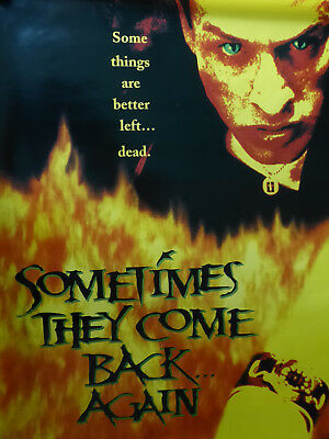 Stephen King's SOMETIMES THEY COME BACK AGAIN movie poster