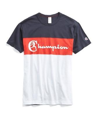 88105506 New Todd Snyder + Champion Mens Champion Chest Panel Graphic T-Shirt