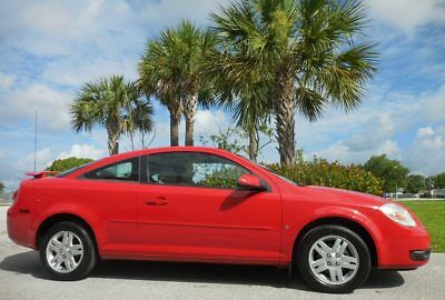 2006 Chevrolet Cobalt LT 1 Owner 34,000 MILES~SUNROOF~SPOILER~NEW TIRES VICTORY RED AUTOMATIC COUPE~ALLOYS~AC~SERVICED READY~NICE~civic corolla 07 08 09