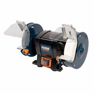 FERM BGM1020 Bench Grinder - 250W - 150mm - Mountable to your workbench - ...