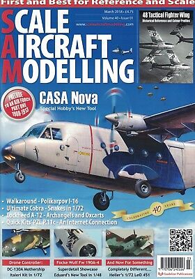 Scale Aircraft Modelling Magazine - MARCH 2018 issue, Vol.40 No.02