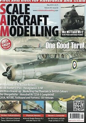 Scale Aircraft Modelling Magazine - MAY 2018 issue, Vol.40 No.03