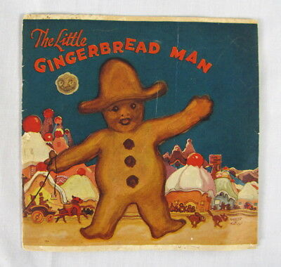 Vintage 1923 The Little Gingerbread Man Royal Baking Powder Company Booklet