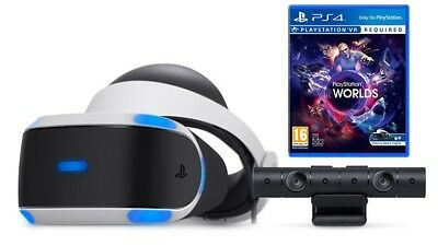 Sony PS VR PlayStation Virtual Reality Headset with camera and game!