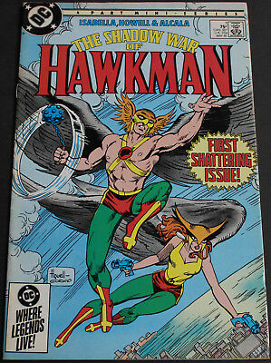 Vintage - The Shadow War Of Hawkman 1st Shattering Issue Detective Comics 1985