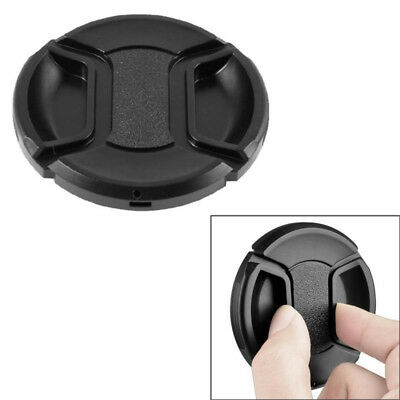 77mm Center Pinch Front Lens Cap Cover For NIKON Canon Camera