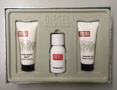 Diesel Plus Plus Masculine Set 75 EdT + 100ml Showergel + 100ml Aftershave