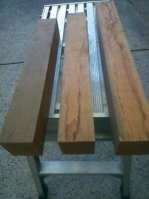 American oak. timber woodturning 65x65 (3) 440 to 540 mm long