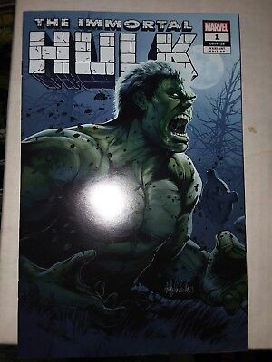 The Immortal hulk 1 Exclusive Variant Witter