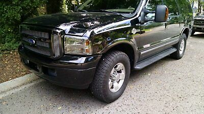 2004 Ford Excursion limited 2004 Ford Excursion 4X4 Bullet proof motor, Harley