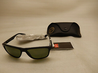0e24a7b83a ... sweden ray ban rb4234 601 9a 58 black green polarized sunglasses aa13f  620ee ...