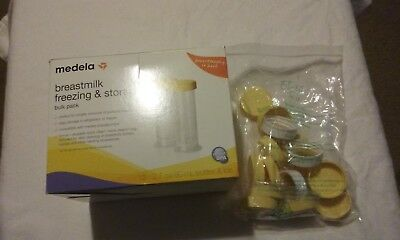 Breastmilk Freezing &storage,bulk Pack, Medela, 11 Tops, 12 Bottles