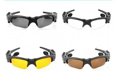 Bluetooth Headset Sunglasses Polarized  Headphones MP3 Player Sport