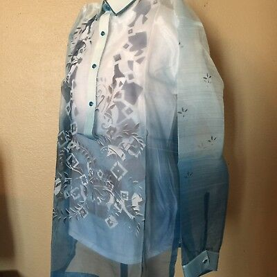 Mens Barong with hand painting XL