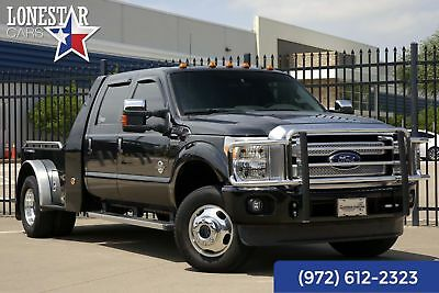 Ford F350SD Diesel Platinum Western Hauler Air Ride 2013 Black Platinum Western Hauler Air Ride!
